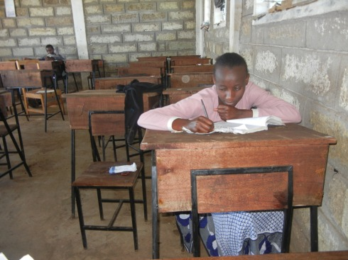 KenyaHelp students studying