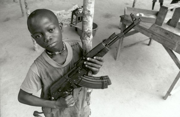 The use of child soldiers is banned by the UN via it's Declaration of the Rights of the Child. But that hasn't stopped many countries and military groups.