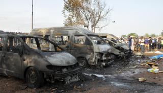 Bus Bombing Nigeria