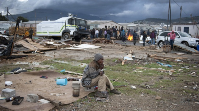 Lwandle Eviction Site
